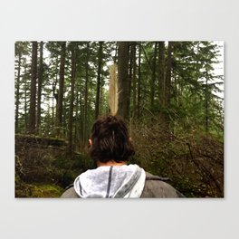 Finding g Canvas Print