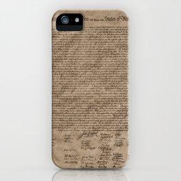 Declaration iPhone Case
