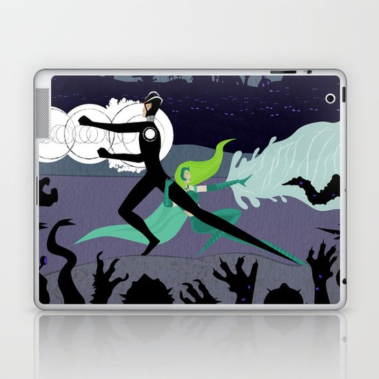 Power Couple Laptop & iPad Skin