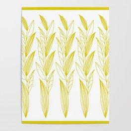 Eternity in Gold Leaf II Poster