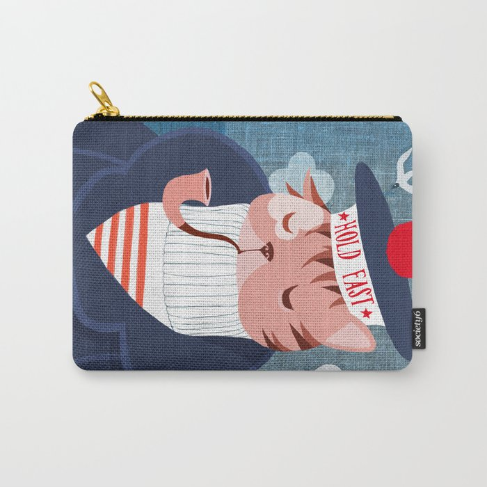 hold fast Carry-All Pouch