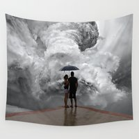 storm Wall Tapestries featuring Storm by Cs025