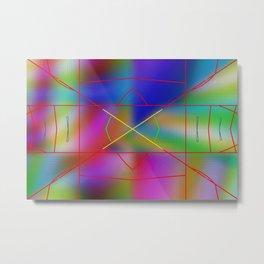 Fineliners Metal Print