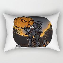 Headless Horseman's cofee break Rectangular Pillow