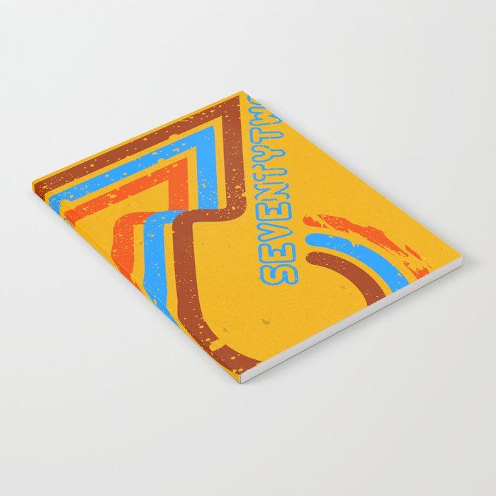 seventytwo''72 Notebook