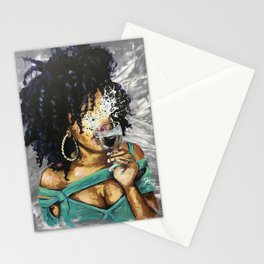 Naturally L Stationery Cards