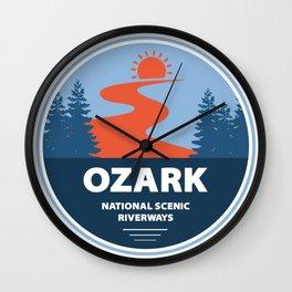 Ozark National Scenic Riverways Wall Clock