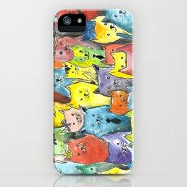 Fancy Kats iPhone Case