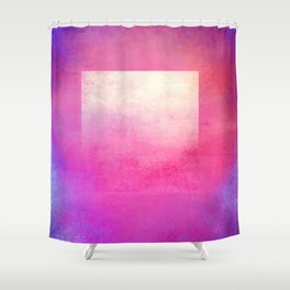Square Composition I Shower Curtain