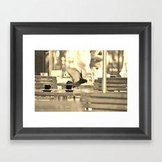 Mon Paris - Atmosphère des Tuileries Framed Art Print