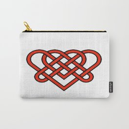 Celtic He Loves Me He Loves Me Knot Carry-All Pouch