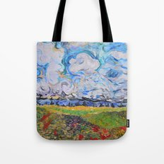Lost In the clouds Tote Bag