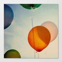 happiness Canvas Prints featuring Happiness... by Alicia Bock