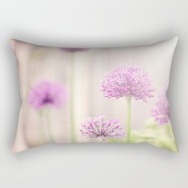 Botanical Flower Photography Rectangular Pillow
