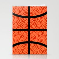 basketball Stationery Cards featuring Basketball by Rorzzer