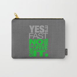 Yes it's fast No you can't drive it v4 HQvector Carry-All Pouch