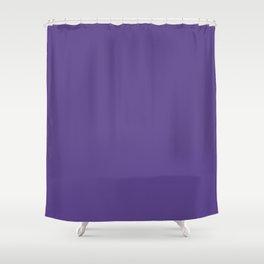 Solid Ultra Violet pantone Shower Curtain