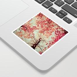 Autumn Inkblot Sticker