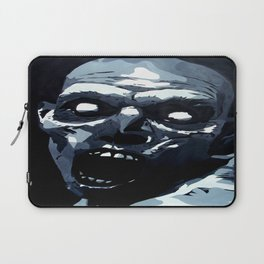 Hungry Zombie- Abstract Zombie Painting Laptop Sleeve