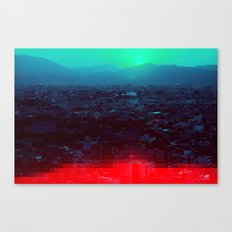 Kyoto Tower Canvas Print