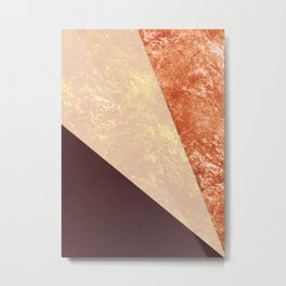 Abstract geometric art Metal Print