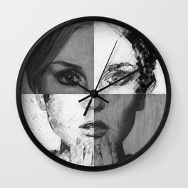 Perrie Edwards Drawing Wall Clock