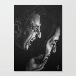 Pirandello's Mask Canvas Print