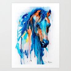 Horseee Art Print