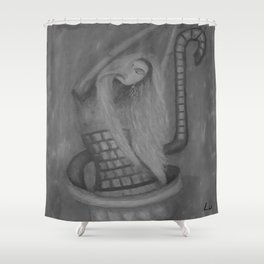 Dance with the Wind by Lu Shower Curtain