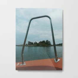 Boat trip in the Archipelago Metal Print