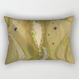 Mirror of the Soul Rectangular Pillow