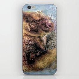 Tree Kangaroo iPhone Skin