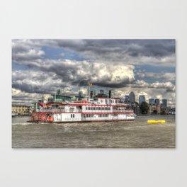 MV Dixie Queen Paddle Steamer. Canvas Print