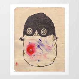 Supa Head Art Print
