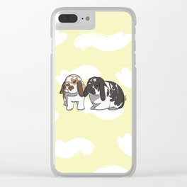 Sammy and Moose Clear iPhone Case