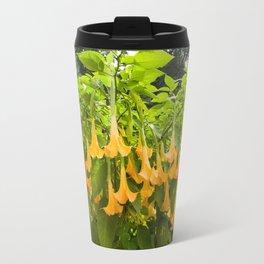 Yellow Brugmansia or Angels Trumpets Travel Mug