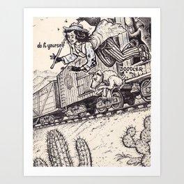 Hobo Art Print