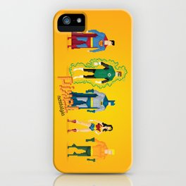 Justice League of America - Pixel Nostalgia iPhone Case