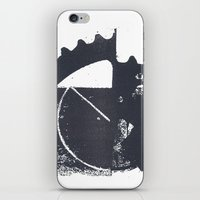 industrial iPhone & iPod Skins featuring Industrial by Lucas del Río