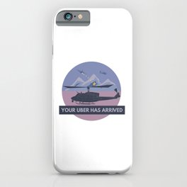 UH-1N Huey Helicopter iPhone Case