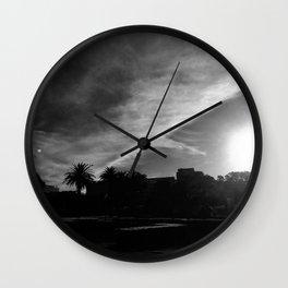 Dramatic Clouds Wall Clock