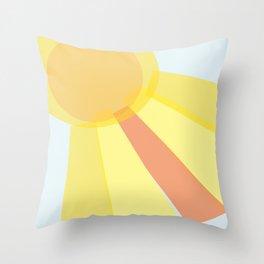 Sun Is Shining Throw Pillow