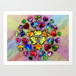 heart beat II Art Print