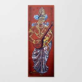 Saraswati - Musical Canvas Print