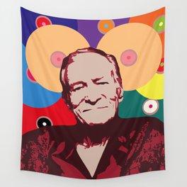 Rest in Boobs - Hugh Hefner Wall Tapestry