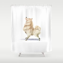 Samoyed Shower Curtain