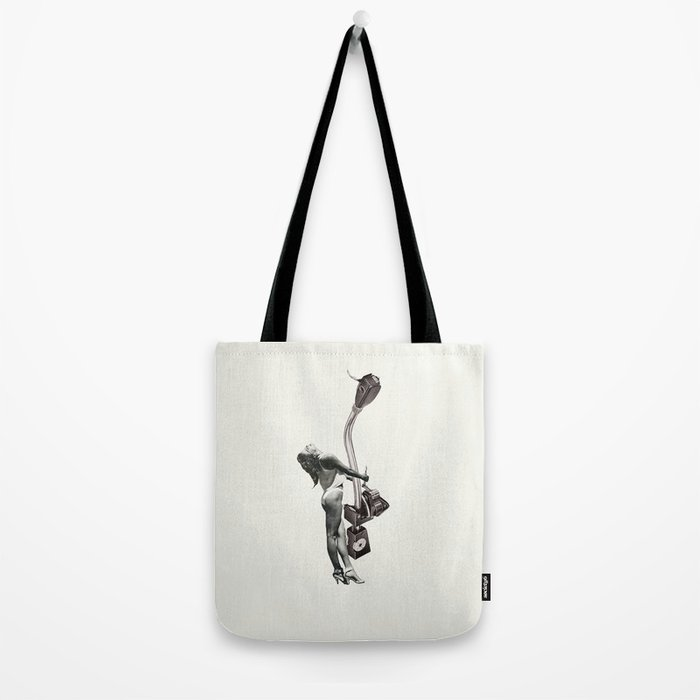 Tone Arm Temptress Tote Bag