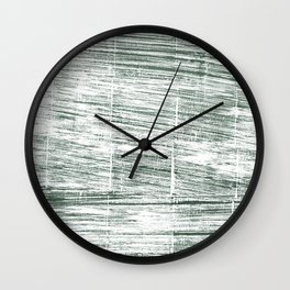 Dolphin Gray abstract watercolor Wall Clock