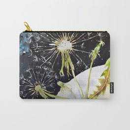 Dandelion Moon Surreal Space Travel, Taraxacum Carry-All Pouch