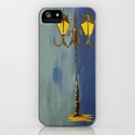 lamp post iPhone Case